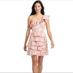 NWT. Cynthia Steffe one shoulder dress